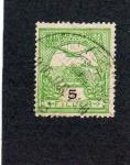 Sellos de Europa - Hungría -  sello antiguo