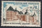 Stamps France -  Castillo de Hautefort