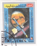Sellos de Asia - Yemen -  aeronautica