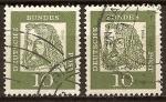 Sellos de Europa - Alemania -  Alemanes destacados- Albrecht Dürer(artista más famoso del Renacimiento alemán)