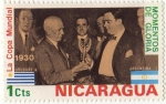 Stamps America - Nicaragua -  Momentos de Gloria. La copa Mundial.
