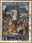 Sellos de America - Colombia -  XXXIX Congreso Eucaristico Internacional