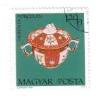 Stamps Hungary -  Herendi Porcelán