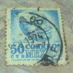 Sellos de America - México -  Head veracruz - arqueologia