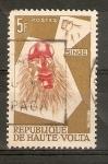 Sellos de Africa - Burkina Faso -  MÀSCARA
