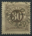 Stamps Europe - Sweden -  S47 - Número