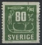 Sellos de Europa - Suecia -  S512 - Grabados rupestres