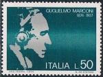 Sellos de Europa - Italia -  CENT. DEL NACIMIENTO DE GIUGLIELMO MARCONI. Y&T Nº 1173
