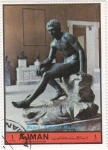 Stamps United Arab Emirates -  Napoli-National Museum