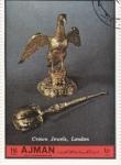 Stamps United Arab Emirates -  London-Crown Jewels