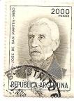 Stamps Argentina -  San Martin