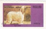 Sellos del Mundo : Asia : Nagaland : perros-Afgano