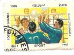 Stamps Asia - Afghanistan -  deporte