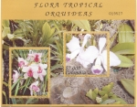 Stamps : America : Colombia :  Flora tropical, Orquideas