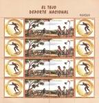 Stamps : America : Colombia :  El tejo deporte Nacional