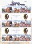 Sellos de America - Colombia -  Carnaval de negros y blancos