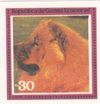 Sellos de Africa - Guinea Ecuatorial -  perros-Chow