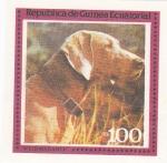 Stamps Equatorial Guinea -  perros-Weinmaraner