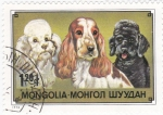 Stamps Mongolia -  Perros