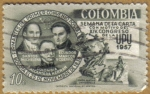 Stamps Colombia -  Semana de la Carta