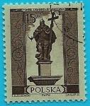 Stamps Poland -  Columna de Seguismundo III - Varsovia