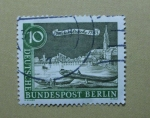 Stamps Germany -  Waisenbrucke. Puente