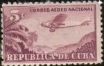 Stamps Cuba -  AEROPLANO