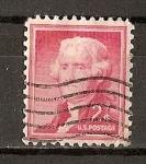 Sellos de America - Estados Unidos -  Th. Jefferson.