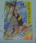 Sellos de Oceania - Australia -  Centenario de la afl.