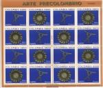 Stamps : America : Colombia :  Arte Precolombino