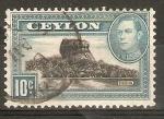 Stamps Sri Lanka -  ROCA  DEL  TIGRE