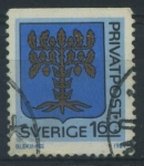 Stamps Sweden -  S1493 - Escudo de Blekinge