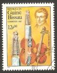 Sellos de Africa - Guinea Bissau -  L. Chérubini