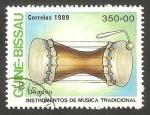 Stamps Guinea Bissau -  instrumento de música dondón