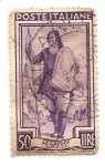 Stamps Italy -  Pastor