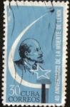 Stamps Cuba -  40 Th. Aniversario muerte de Lenim
