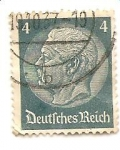 Stamps Germany -  correo terrestre