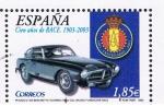 Stamps Spain -  Edifil  3996 D Cien años del R.A.C.E. 1903 - 2003