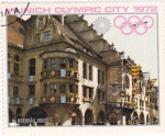 Sellos de Asia - Yemen -  Munich Olympic City 1972