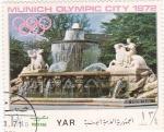 Sellos de Asia - Yemen -  Munich Olympic City 1972