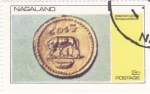 Stamps Nagaland -  Romulus and Remus