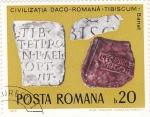 Stamps Romania -  Civilizacion románica