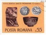 Sellos de Europa - Rumania -  Civilizacion románica