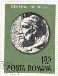 Stamps Romania -  Decebal