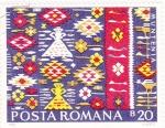 Sellos de Europa - Rumania -  Tapices