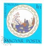 Stamps Hungary -  porcelana
