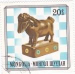 Sellos de Asia - Mongolia -  figura