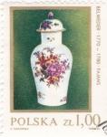 Sellos de Europa - Polonia -  porcelana