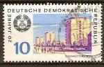 Sellos del Mundo : Europa : Alemania : 20.Años DDR-Eisenhüttenstadt.