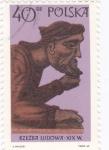 Stamps Poland -  rzezba ludowa
